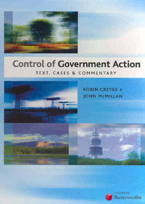 Cover of Control of Government Action