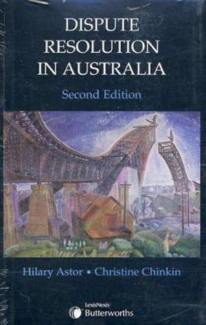 Cover of Dispute Resolution in Australia