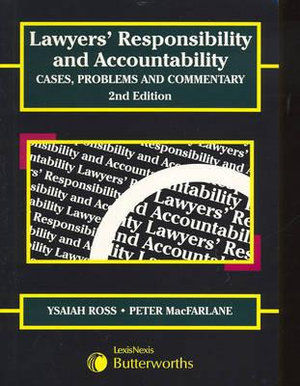 Cover of Lawyers' Responsibility and Accountability