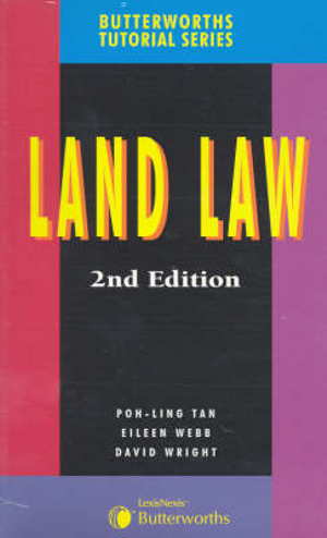 Cover of Butterworths Tutorial Series - Land Law