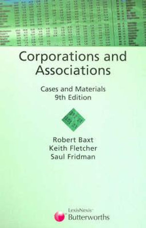Cover of Corporations and Associations
