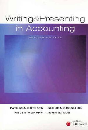 Cover of Writing and Presenting in Accounting
