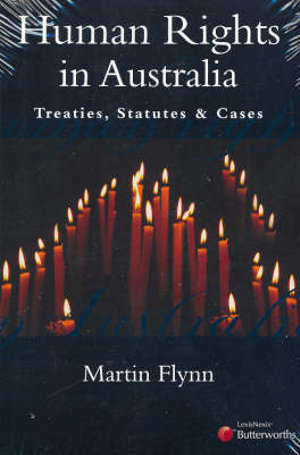 Cover of Human Rights in Australia