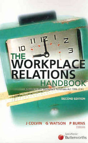 Cover of The Workplace Relations Handbook