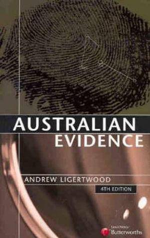 Cover of Australian Evidence