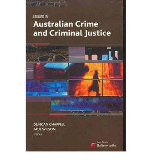 Cover of Issues in Australian Crime and Criminal Justice