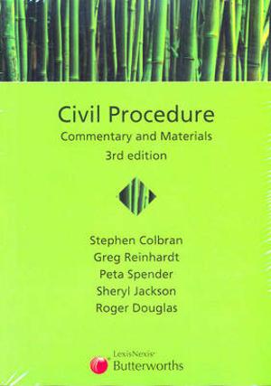 Cover of Civil Procedure