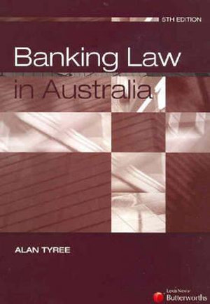 Cover of Banking Law in Australia