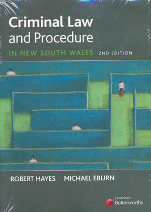 Cover of Criminal Law and Procedure in New South Wales