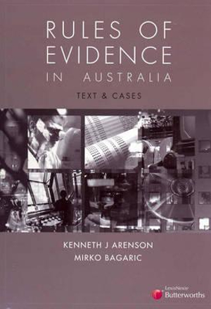 Cover of Rules of Evidence in Australia