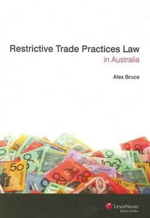 Cover of Restrictive Trade Practices Law in Australia