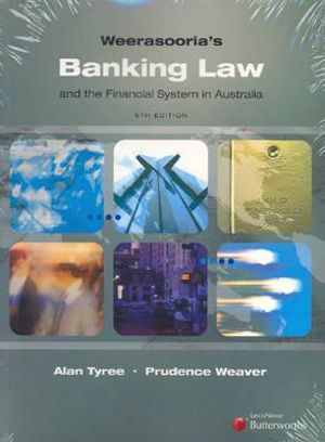 Cover of Weerasooria's Banking Law and the Financial System in Australia