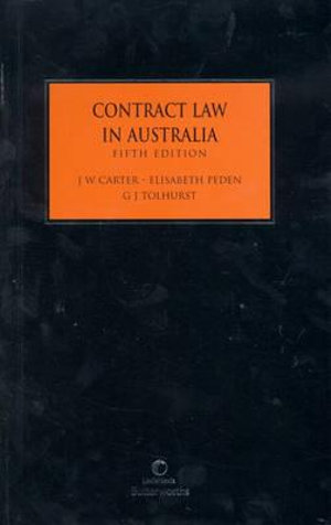 Cover of Contract Law in Australia