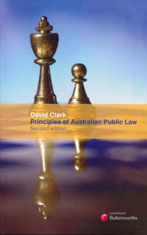 Cover of Principles of Australian Public Law