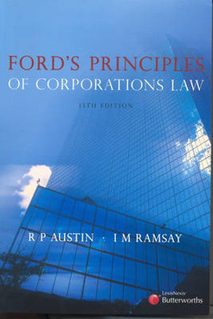Cover of Ford's Principles of Corporations Law