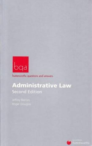 Cover of Butterworths Questions and Answers - Administrative Law