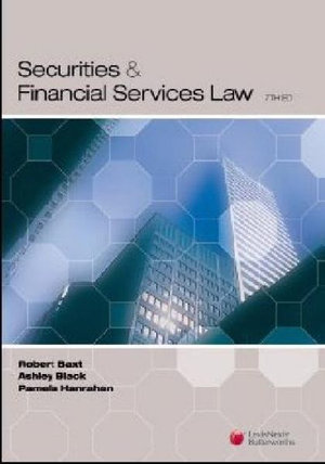 Cover of Securities and Financial Services Law