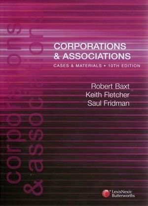 Cover of Corporations and Associations: Cases and Materials Tenth Edition