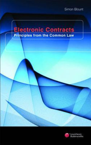 Cover of Electronic Contracts