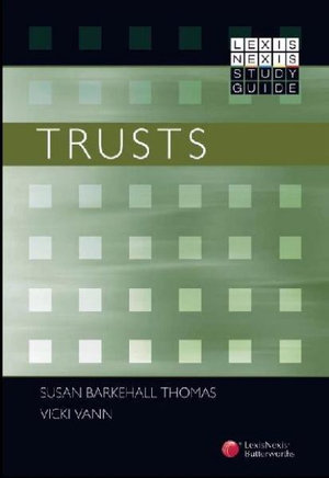Cover of LexisNexis Study Guide: Trusts