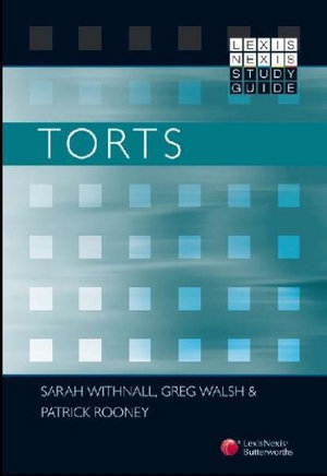 Cover of LexisNexis Study Guide: Torts