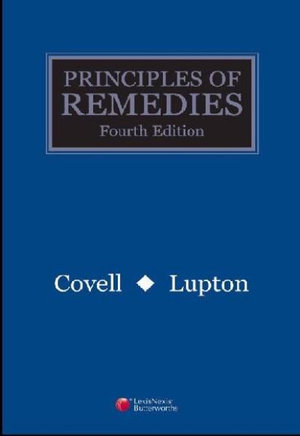 Cover of Principles of Remedies