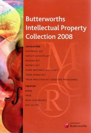 Cover of Butterworths Intellectual Property Collection 2008