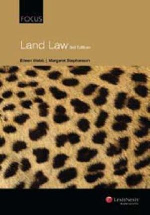 Cover of Focus: Land Law - 3rd Edition