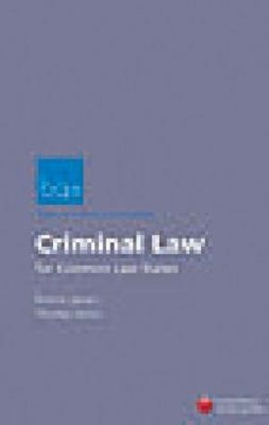 Cover of Criminal Law for the Common Law States