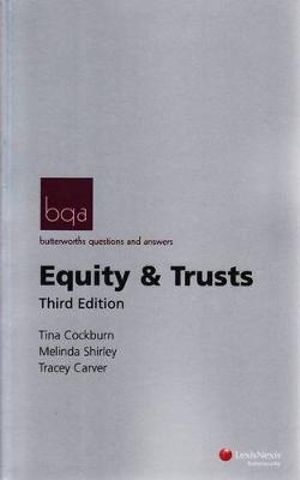 Cover of Butterworths Questions and Answers: Equity and Trusts - Third Edition