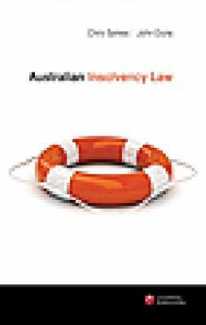 Cover of Australian Insolvency Law