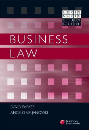 Cover of LexisNexis Study Guide: Business Law