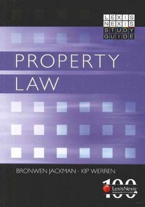 Cover of LexisNexis Study Guide: Property Law