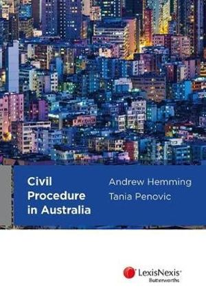 Cover of Civil Procedure in Australia