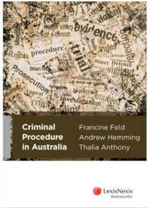 Cover of Criminal Procedure in Australia