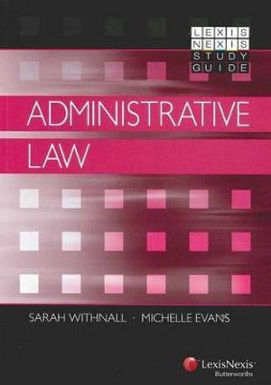 Cover of LexisNexis Study Guide: Administrative Law