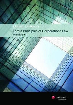 Cover of Ford's Principles of Corporations Law - 14th Edition