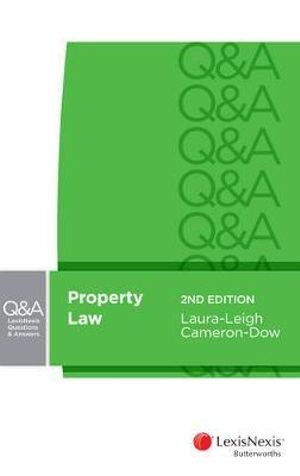 Cover of LexisNexis Questions and Answers: Property Law, 2nd Edition