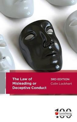 Cover of The Law of Misleading Or Deceptive Conduct