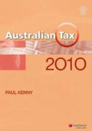 Cover of Australian Tax 2010