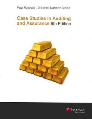 Cover of Case Studies in Auditing and Assurance - Fifth Edition