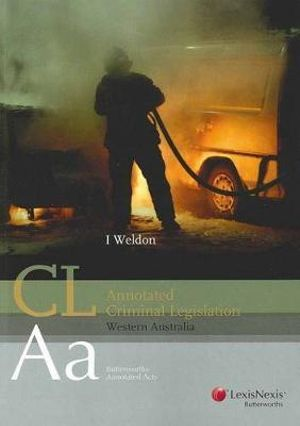 Cover of Annotated Criminal Legislation