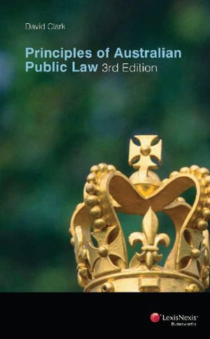 Cover of Principles of Australian Public Law - 3rd Edition