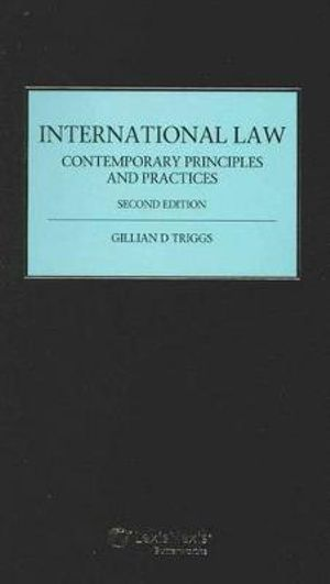 Cover of International Law: Contemporary Principles and Practices - 2nd Edition