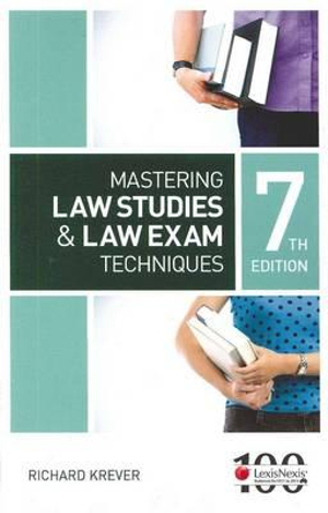 Cover of Mastering Law Studies and Law Exam Techniques, 7th Edition