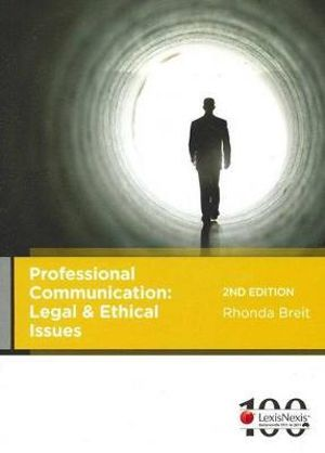 Cover of Professional Communication: Legal and Ethical Issues - 2nd Edition