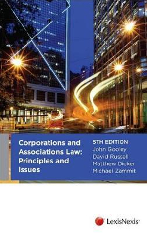 Cover of Corporations and Associations: Principles and Issues - 5th Edition