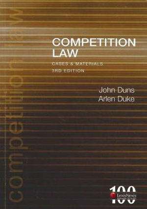 Cover of Competition Law Cases & Materials - 3rd edition