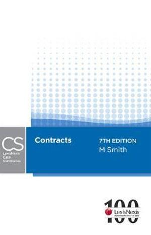 Cover of LexisNexis Case Summaries: Contracts - 7th edition