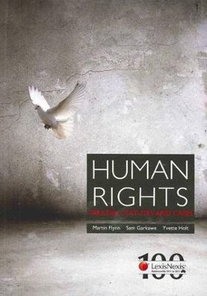 Cover of Human Rights: Treaties Statutes and Cases